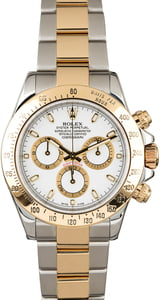 Pre-Owned Rolex Daytona Two Tone 116523