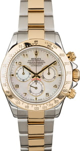 Rolex Daytona 116523 Mother of Pearl Arabic Dial
