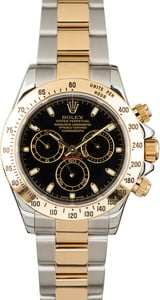 Used Daytona Rolex 116523 Black Dial