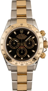 Used Rolex Daytona 116523 Black Index Dial