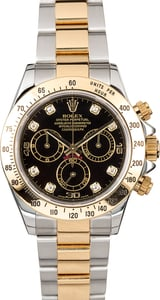 Rolex Daytona 116523 Black Diamond Dial