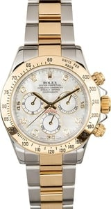 Rolex Daytona 116523 Diamond Mother of Pearl Dial