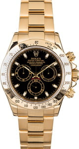 Rolex Daytona 116528 Yellow Gold Oyster
