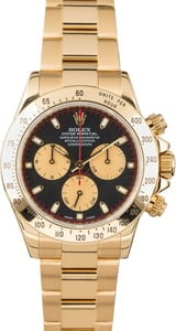 Rolex Daytona 116528 Yellow Gold Black Dial