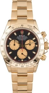 Used Rolex Daytona 116528 Black Dial