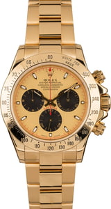 Used Rolex Daytona 116528 Yellow Gold