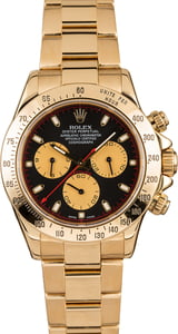Pre-Owned Rolex Daytona 116528 18k Yellow Gold