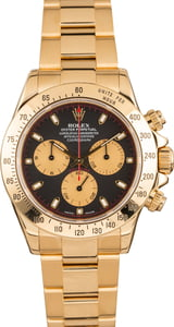 Pre-Owned Rolex Daytona 116528 Black Dial Watch