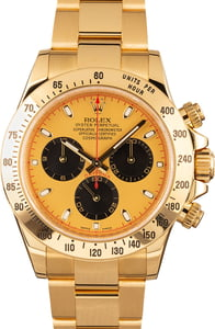 Rolex Daytona Cosmograph 116528 Yellow Gold