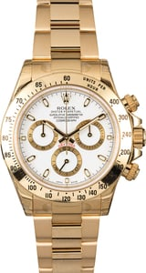 Rolex Daytona 116528 18K Yellow Gold