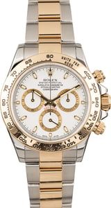 Pre-Owned Rolex Daytona Cosmograph 116503 White Luminous Dial