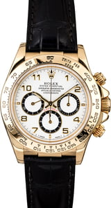Rolex Daytona 16518 Yellow Gold Case