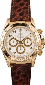 Pre Owned Rolex Daytona 16518 Arabic Numbers
