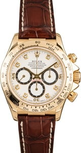 Pre-Owned Rolex Daytona 16518 Diamond Dial