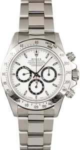 Rolex Daytona 16520 White Dial Zenith Movement