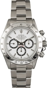 PreOwned Rolex Daytona 16520 Zenith Movement White Dial