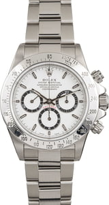 Rolex Daytona 16520 Zenith Movement White Dial