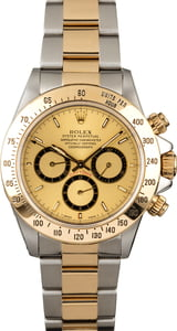 PreOwned Rolex Daytona 16523 Champagne Dial