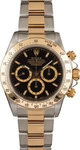 Used Rolex Daytona Cosmograph 16523 Black Dial