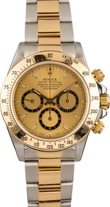 Used Rolex Daytona 16523 Steel & Gold