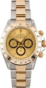 Pre Owned Rolex Daytona 16523 Stainless Steel & Gold