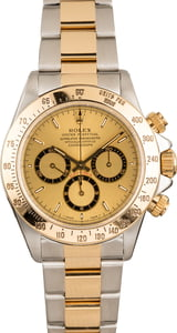 Used Rolex Daytona 16523 Champagne Dial