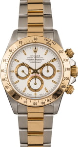 Pre Owned Rolex Daytona 16523 White Dial