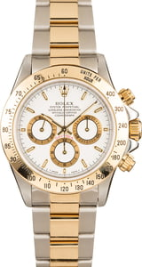 Pre-Owned Rolex Two Tone Daytona 16523