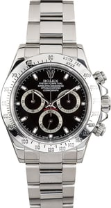 Rolex Daytona Stainless 116520 Certified Pre-Owned