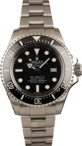 Used Rolex Sea Dweller Deepsea 116660 Ceramic Bezel Watch