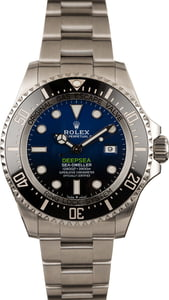 Used Rolex DeepSea 126660 D-Blue Dial
