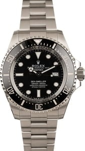 Pre-Owned Rolex DeepSea 126660 Black Dial