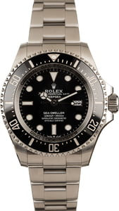 Pre-Owned Rolex SeaDweller 126660 Black Ceramic Bezel