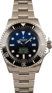 Used Rolex DeepSea 126660B D-Blue Ceramic Model