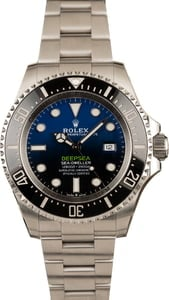 Pre-Owned Rolex SeaDweller 126660 D-Blue Dial