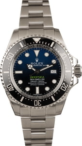 "Pre-Owned Rolex Deepsea Blue 116660B ""James Cameron"""