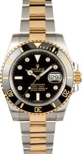 Rolex Submariner 116613 Diamond Markers