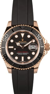 Rolex Everose Yachtmaster 116655 Rubber