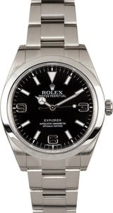 Factory Stickered Rolex Explorer 214270