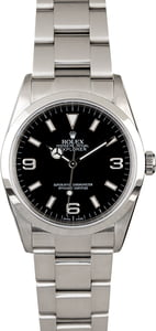 Men's Rolex Explorer 114270 Steel Oyster Band