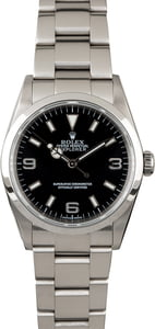 PreOwned Rolex Explorer 114270 Steel Watch