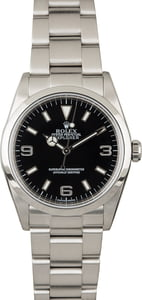 PreOwned Rolex Explorer 114270 Stainless Steel