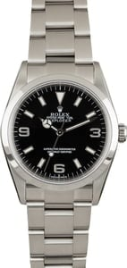 Used Rolex Explorer 114270 Stainless Steel Oyster
