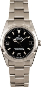Pre-Owned Rolex Explorer 114270 Steel Oyster Band