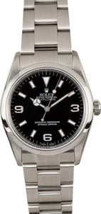 Rolex Explorer 114270 Stainless 100% Authentic