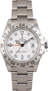 Pre Owned Rolex Explorer II Ref 16570 'Polar' Dial