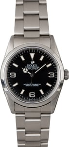 Rolex Explorer 14270 Luminescent Hour Markers