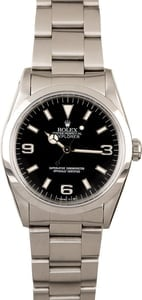 Rolex Explorer 14270 Steel Smooth Bezel
