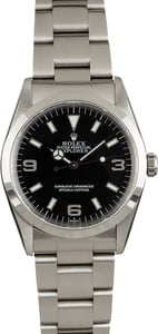 Rolex Explorer 14270 Black Arabic Dial