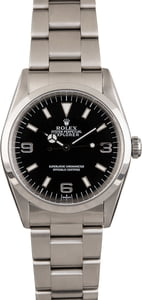 PreOwned Rolex Explorer 14270 Steel Smooth Bezel